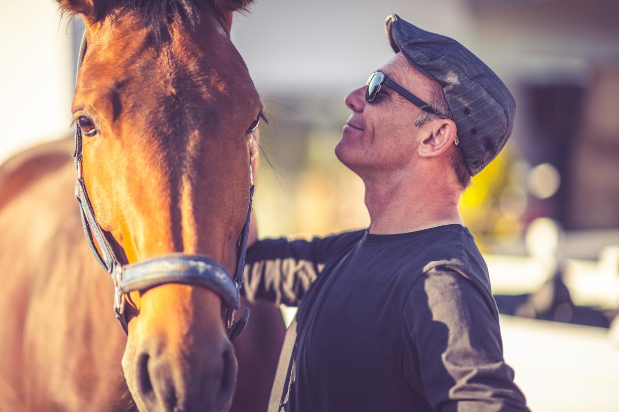 Caucasian Horse Lover
